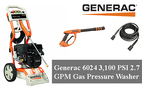 Generac 6024 - Best Gas Pressure Washer Review