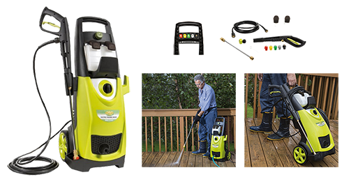 Sun Joe SPX3000 2030 PSI 1.76 GPM Best Electric Pressure Washer