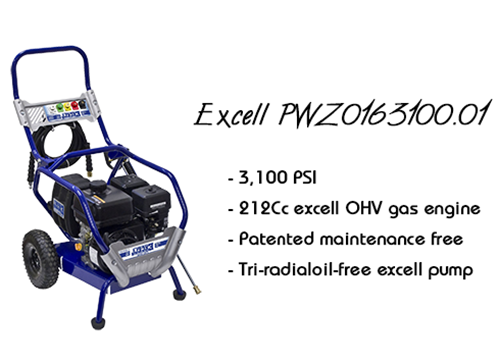 Excell Pressure Washer - PWZ0163100.01 Review