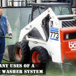 The many uses of a pressure washer system