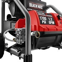 BlackMax BM80721 1700 PSI Electric Pressure Washer