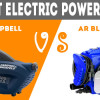 The Best Electric Power Washer – Campbell vs AR Blue