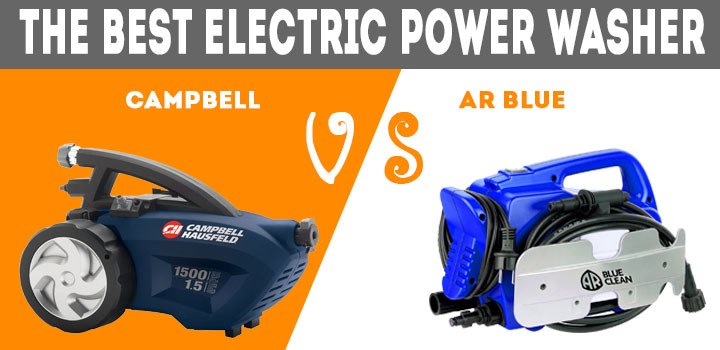 Electric Power Washer – Campbell vs AR Blue