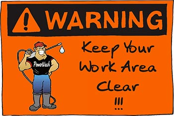 Keep Your Work Area Clear