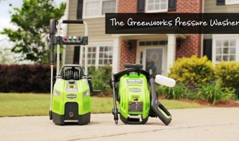 The Greenworks Pressure Washer