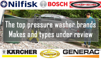Top Pressure Washer Brands in Review