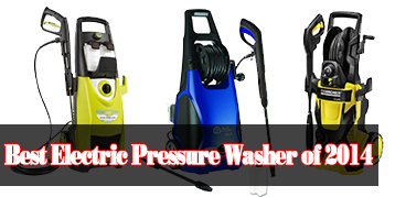 Best Electric Pressure Washer of 2014