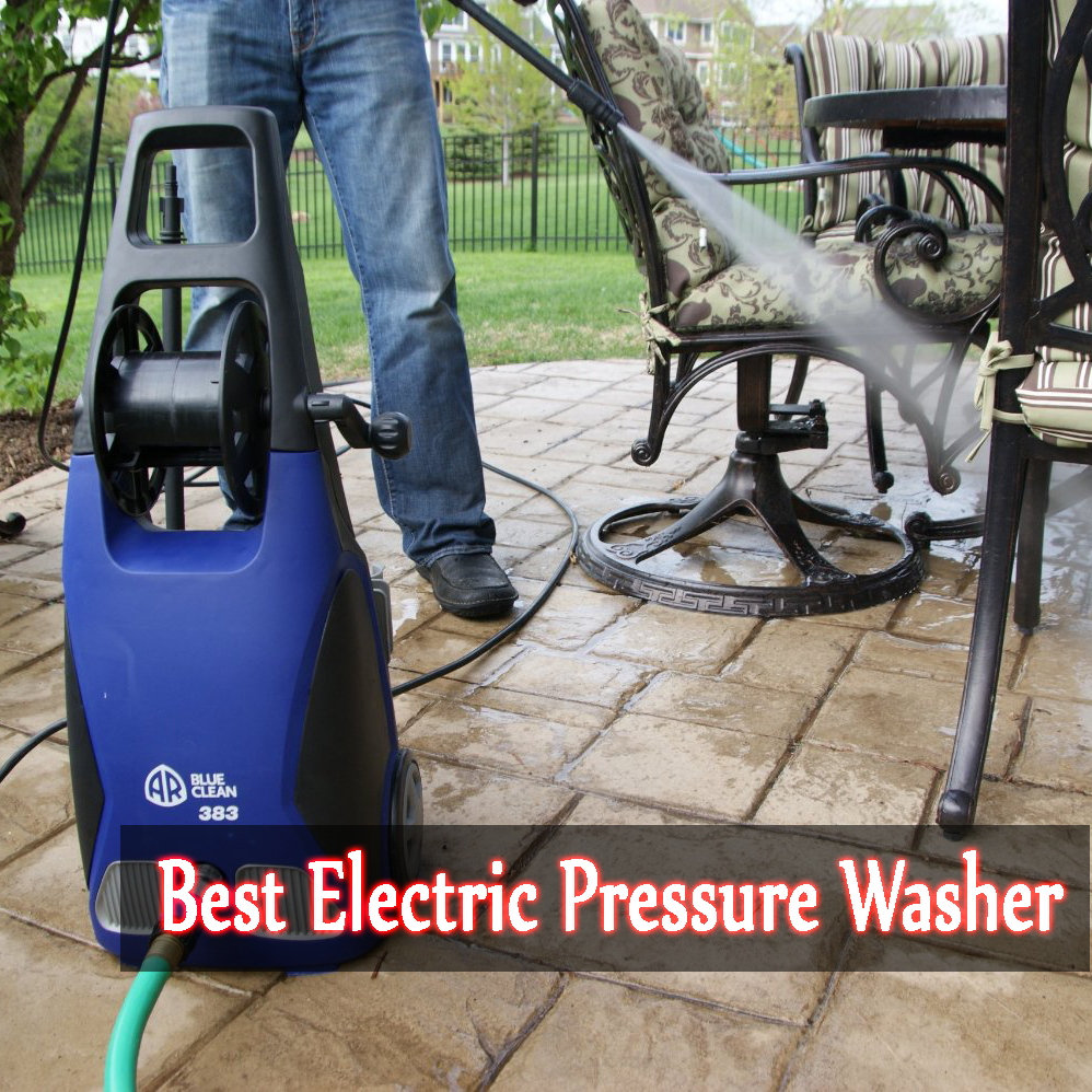 Top 3 Best Electric Pressure Washer of 2014