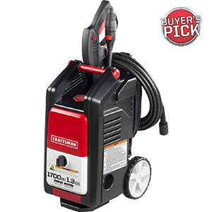 The Best Craftsman Pressure Washer – 1,700 PSI, 1.3 GPM Review