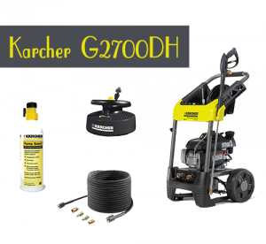 Karcher Pressure Washer 2700PSI - G2700DH Review