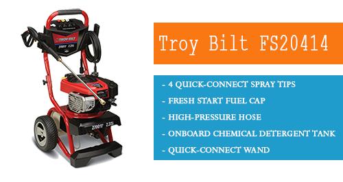Troy Bilt Gas Pressure Washer 2700 Psi 2.3 GPM Briggs FS20414