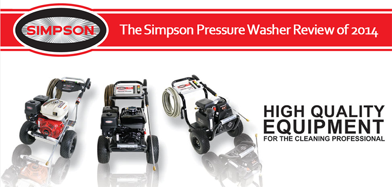 The Simpson Pressure Washer Review of 2014
