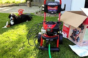 A Gas Pressure Washer – When Electric Doesn't Cut It