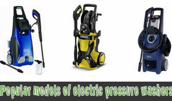 Popular models of electric pressure washers