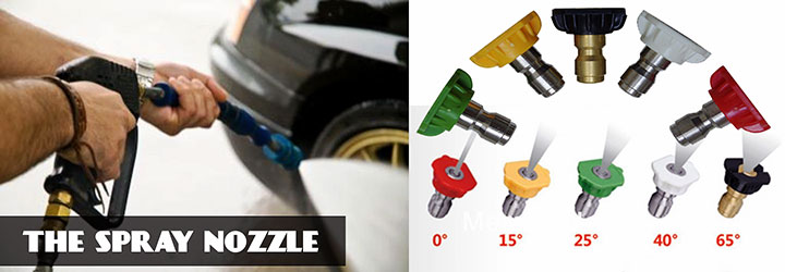 The Spray Nozzle - Best Pressure Washer Parts