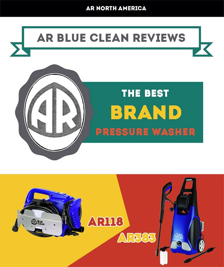 The AR Blue Clean AR118 and AR383 Pressure Washers Reviews