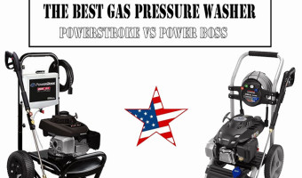 The Best Gas Pressure Washer: Powerstroke vs Power Boss
