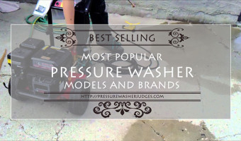 Most Popular Pressure Washer Models and Brands – Best Selling